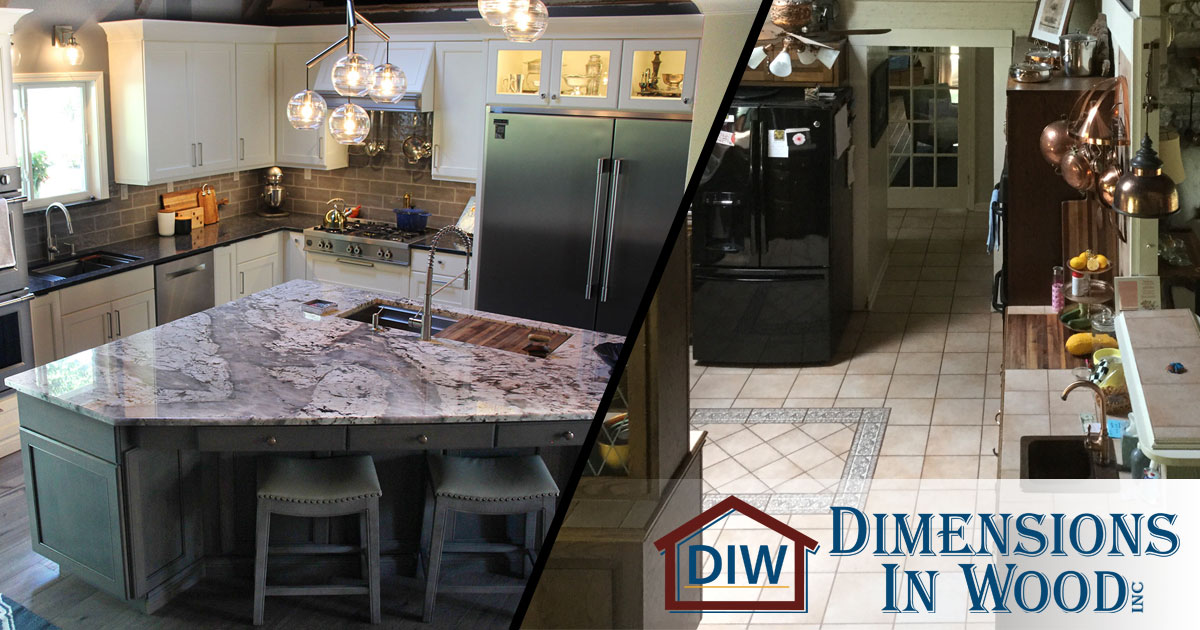 Kitchen Remodel With Custom Cabinets A Huge Island And Dual Sinks Columbia Mo Dimensions In Wood
