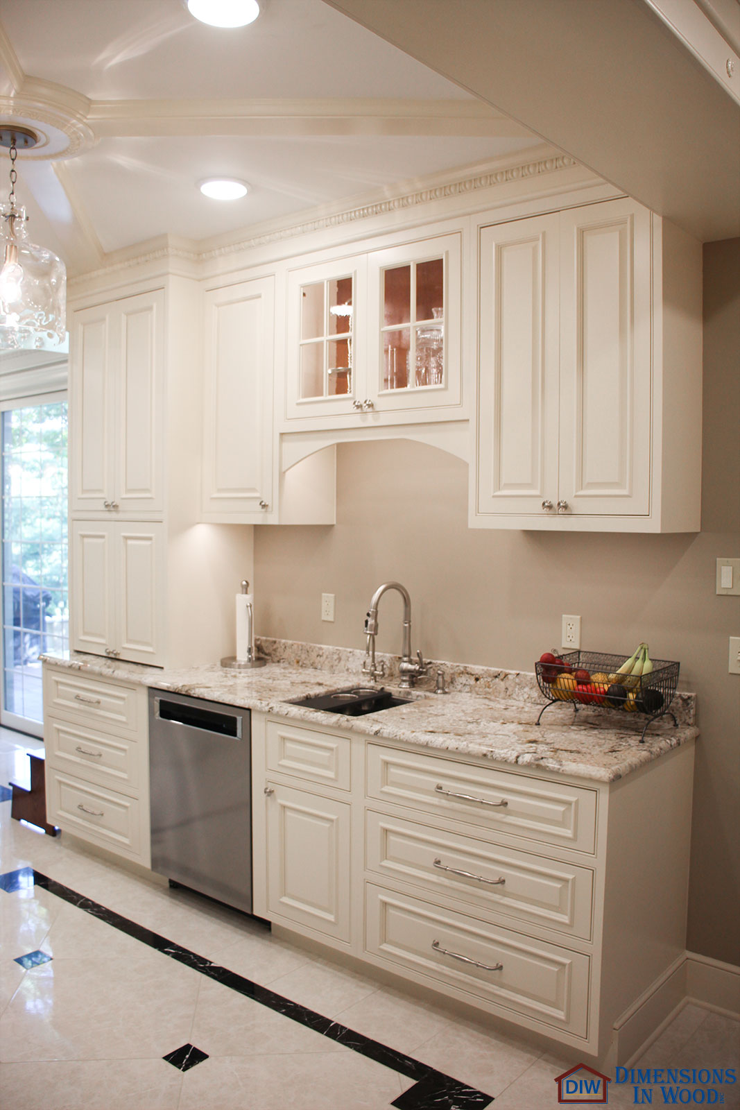 Kitchen Renovation With Baking Cabinet And Snack Bar Alcove Columbia Mo Dimensions In Wood