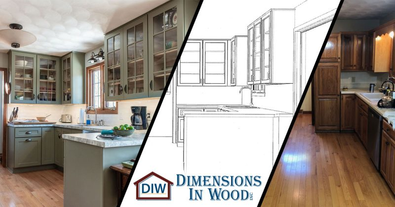 Kitchen Renovation Contractor Jeff City Missouri RiverRun Cabinets Seamless Formica Laminate Countertops Stackable Laundry Room Pantry Soft Close Drawers Doors Peninsula Dimensions In Wood`